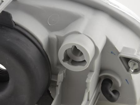 Verschleißteile Scheinwerfer links Fiat Seicento Bj 98-07 Typ 187